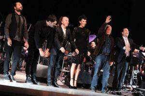 Gino Paoli e Nina Zilli in concerto con Stefano Fonzi