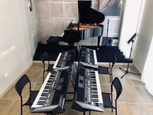 Corso di pianoforte e tastiere sala