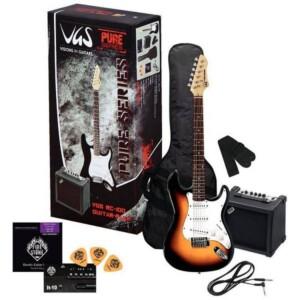 chitarre elettrica sunburst pack VGS
