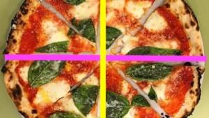 solfeggio divisione valori pizza al piatto