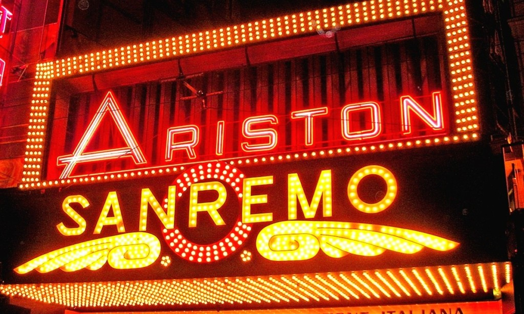 Ariston teatro Sanremo