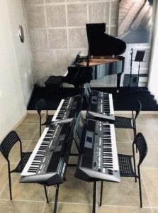 aula del Corso di Pianoforte e Tastiere