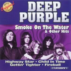 smoke on the water deep purple base per chitarra e spartito