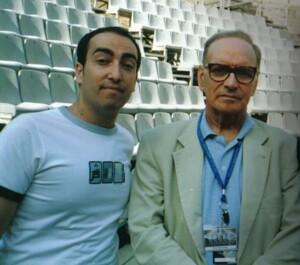 Ennio Morricone Con Stefano Fonzi