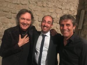 Stefano Fonzi e Red Canzian