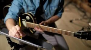 Musicista scrive musica