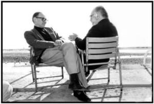Ennio Morricone e Sergio Leone