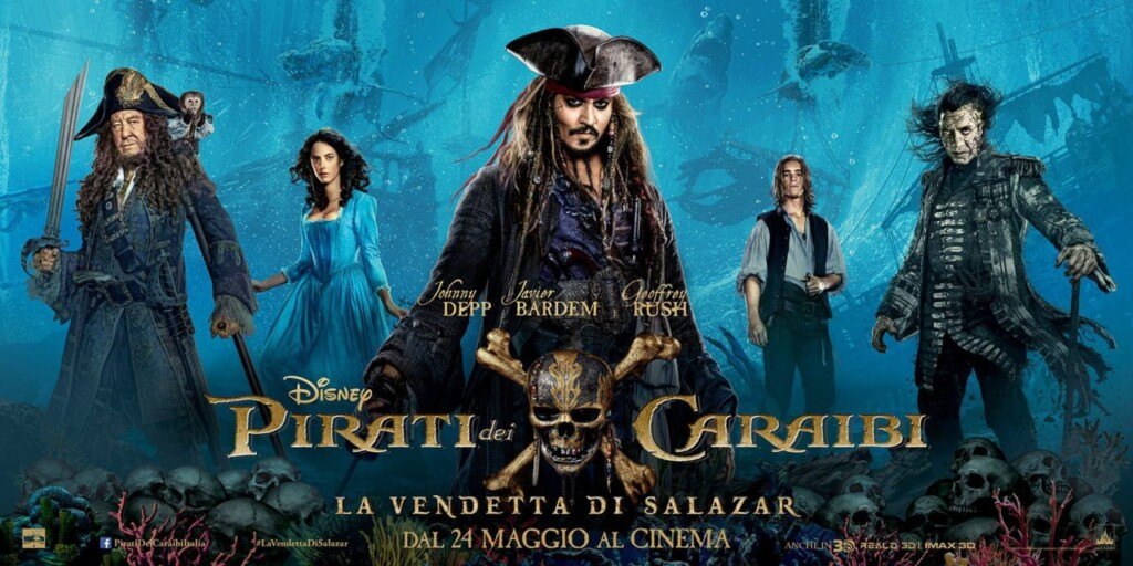 pirati dei caraibi - colonna sonora - la vendetta di salazar