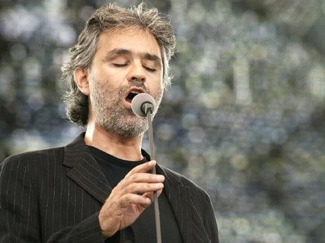 Andrea Bocelli teatro greco di Siracusa