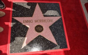 Hollywood Walk of fame Morricone