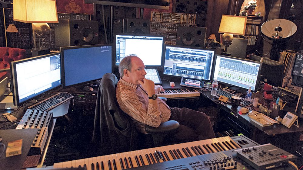 hans zimmer colonne sonore - studio